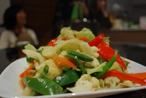 Saltear verduras com azeite de oliva aumenta sua capacidade antioxidante