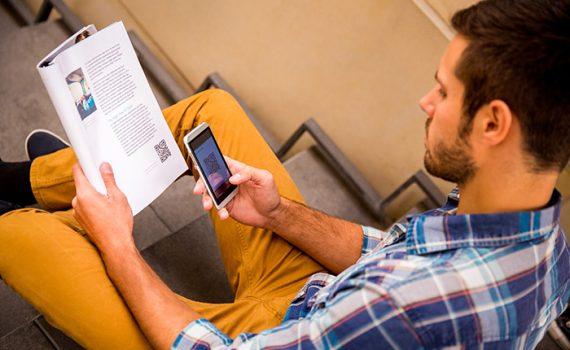 Novas tecnologias em sala de aula: uso de códigos QR