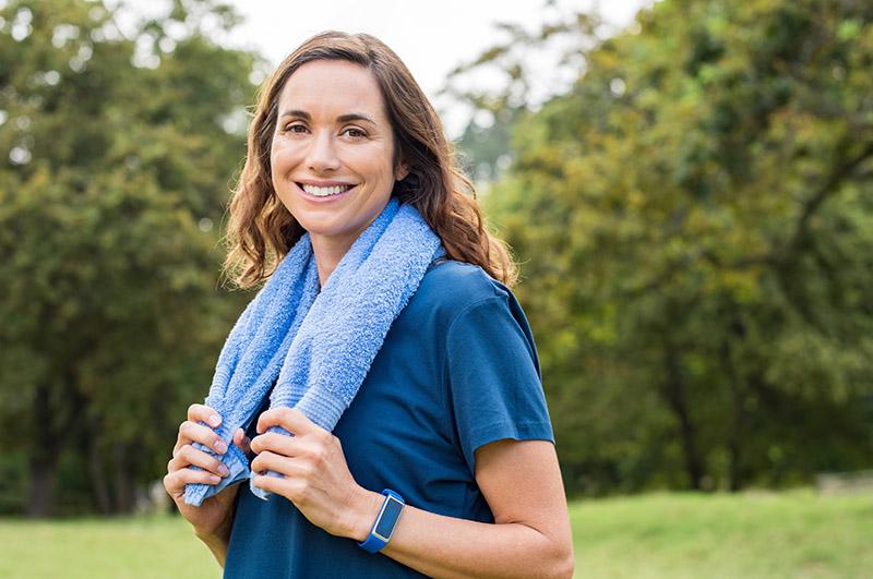 Guia de saúde para mulheres através do esporte
