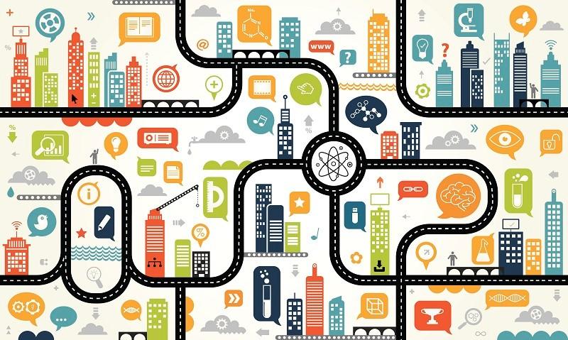 Redesenhar cidades para torná-las mais inteligentes requer a combinação de planos estratégicos e recursos eletrônicos como parte de uma boa gestão de projetos