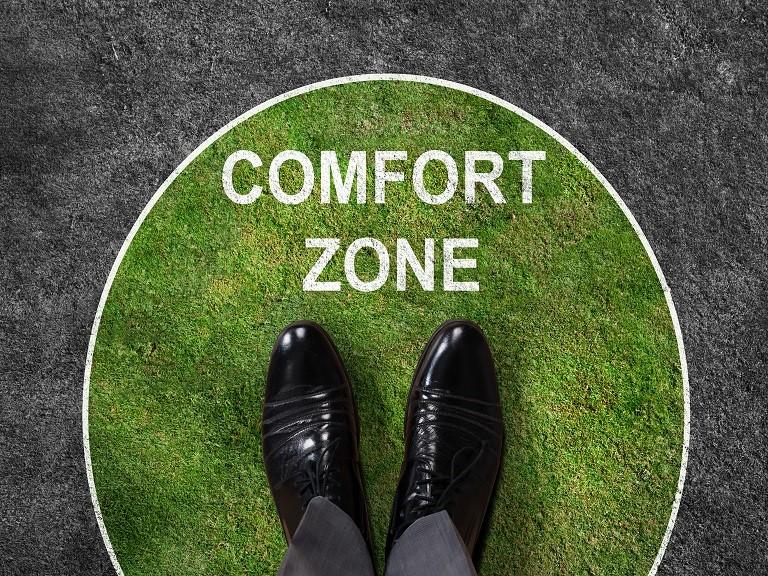 Como sair da zona de conforto
