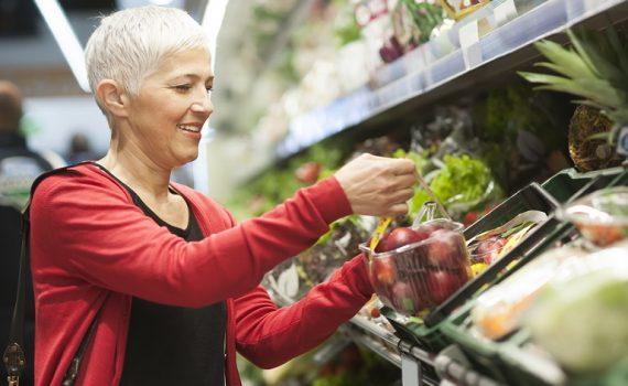 Os benefícios das frutas e legumes nos idosos