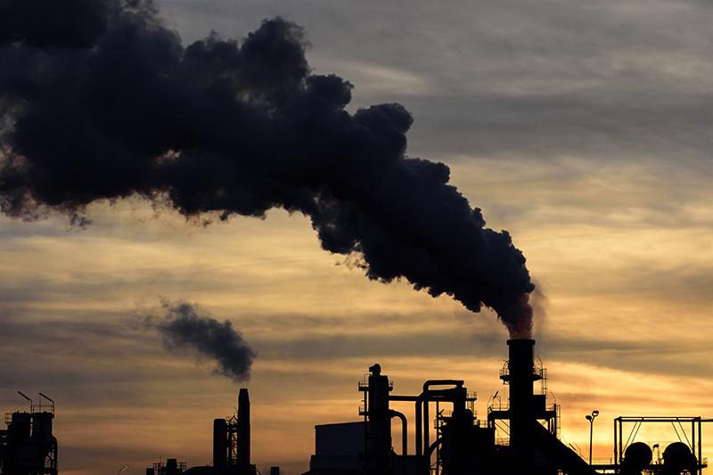 Aumentam as emissões de gás em todo o mundo