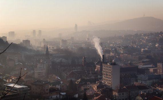 Alerta para a contaminação do ar em países balcânicos