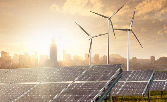 Construção recorde de parque solar