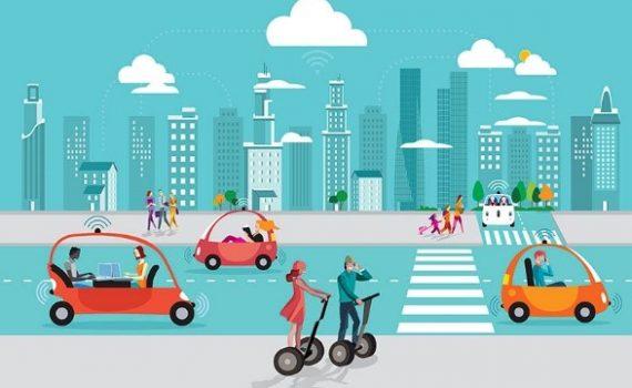 Transporte e tecnologia unem seus caminhos