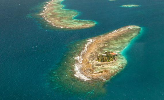 O mar avança sobre Honduras