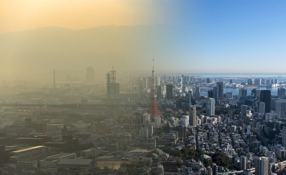 Confinamento evita também mortes por poluição