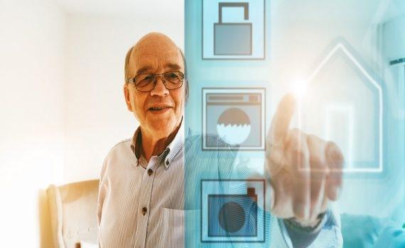 Relação entre envelhecimento e tecnologia