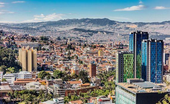 Bogotá, cidade colombiana em desenvolvimento