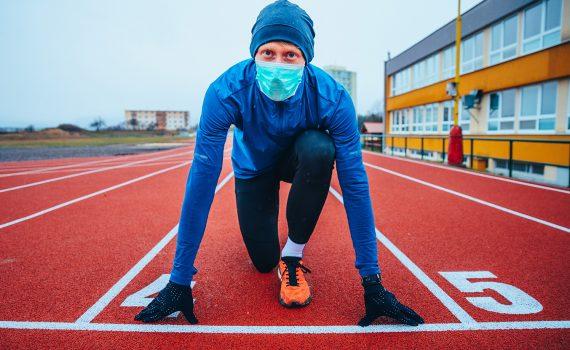 O uso da máscara na educação física e no esporte