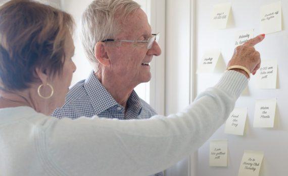 Direitos para adultos idosos com demência