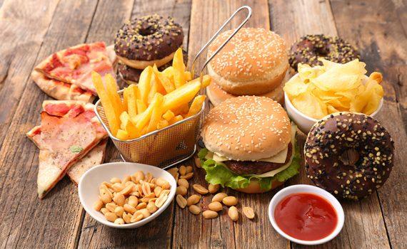 O que é um alto consumo de alimentos processados?