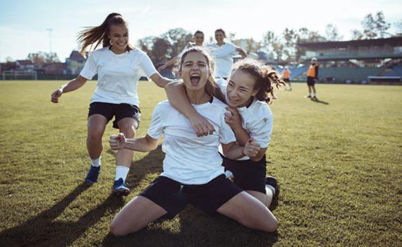 Igualdade das mulheres no esporte