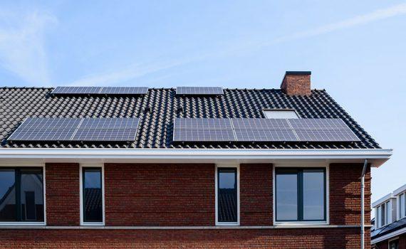 Exemplos de painéis solares estéticos