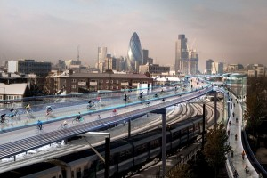 Proyecto de Norman Foster ofrece alternativa para el ciclismo urbano
