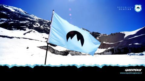 Greenpeace intenta fundar un nuevo país para proteger los glaciares