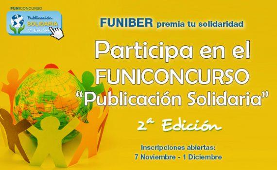 """2ª edición del CONCURSO «Publicación Solidaria"""" de FUNIBER"""