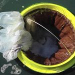 Un contenedor de basura para el océano