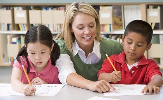 Una imagen de la educación
