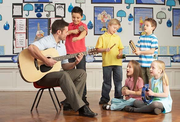 Música para mejorar los entornos de enseñanza
