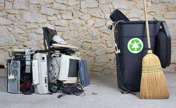 Aumenta la acumulación de basura electrónica