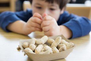 Parche para los alérgicos al cacahuete