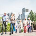 Ciudades amigables para personas adultas mayores