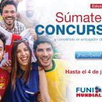 FUNIMUNDIAL 2018: FUNIBER promueve concurso de la Copa del Mundo