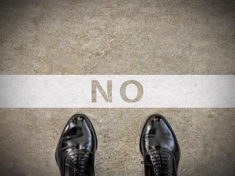 """Es posible decir """"NO"""" como gestor de proyectos"""