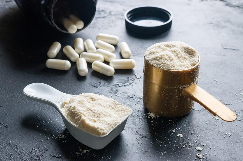 La calidad de los suplementos de proteína en polvo