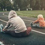 Cuando hijos y padres entrenan juntos es fundamental la organización