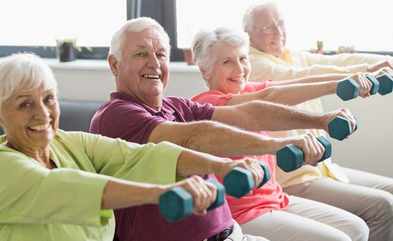 La masa muscular puede ser signo de vitalidad