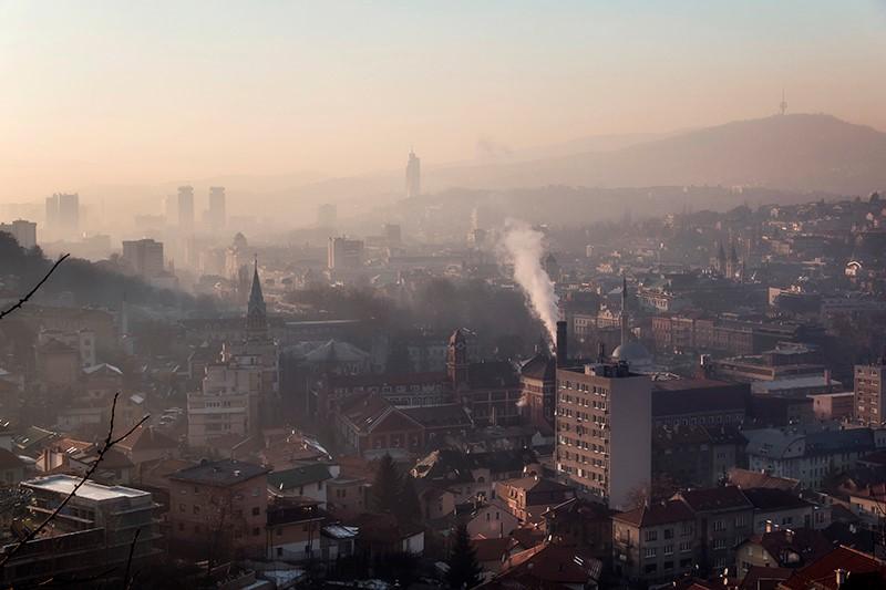 Alerta para la contaminación del aire en países balcánicos