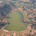 Laguna en Chile se seca completamente