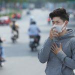 Las máscaras utilizadas en Vietnam para evitar el aire contaminado