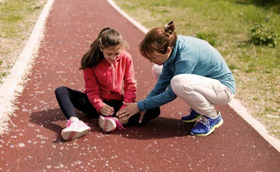 Los niños deportistas pueden tener más probabilidades de sufrir lesiones