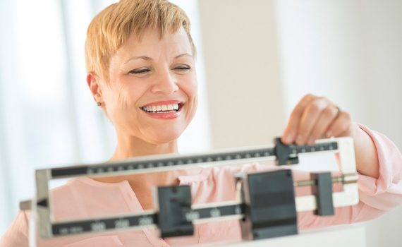 Mantener el peso, incluso con la edad avanzada