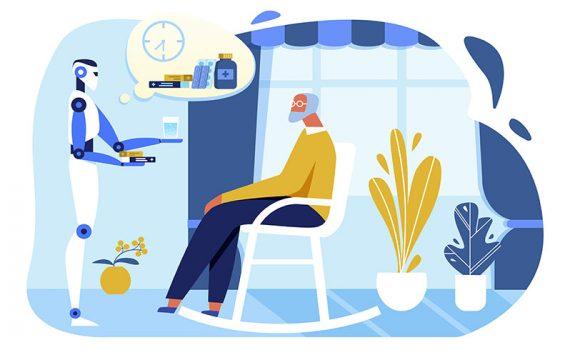 Robots podrían mejorar la calidad de vida del adulto mayor