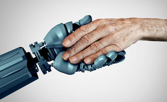 Japón prueba robots en residencias de ancianos