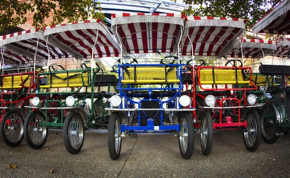Solidaridad en forma de triciclos para ancianos