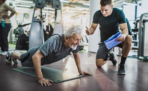 Los ejercicios isométricos son efectivos para el entrenamiento muscular