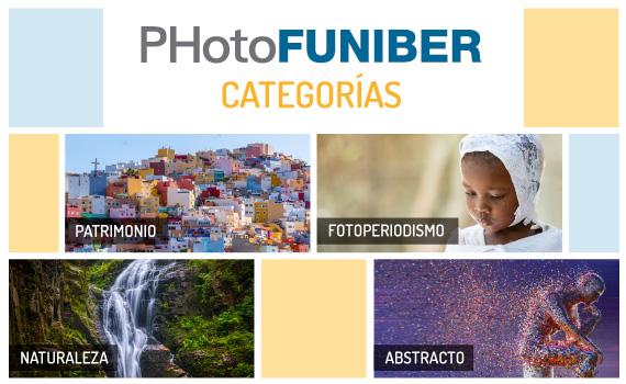 ¿Qué categorías se ofrecen en el Concurso Internacional PHotoFUNIBER '20?