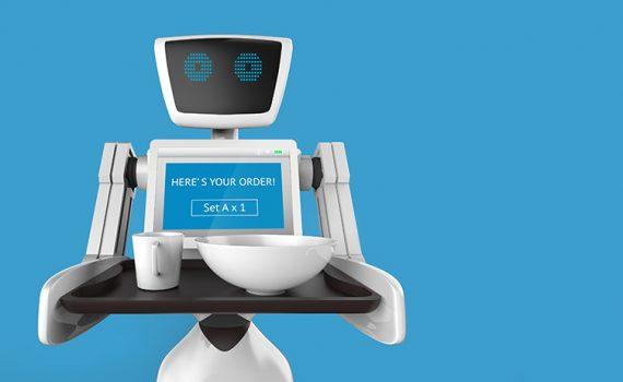 Robots camareros, un servicio para personas en cuarentena en China
