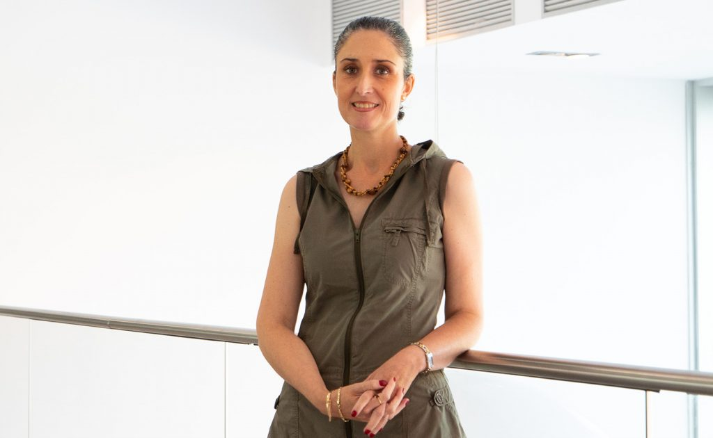 María Luisa Sámano, docente en la Escuela Politécnica Superior de la Universidad Europea del Atlántico