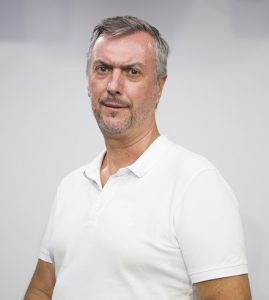 Alejandro Sanz Láriz, profesor del área de Comunicación de la Universidad Europea del Atlántico