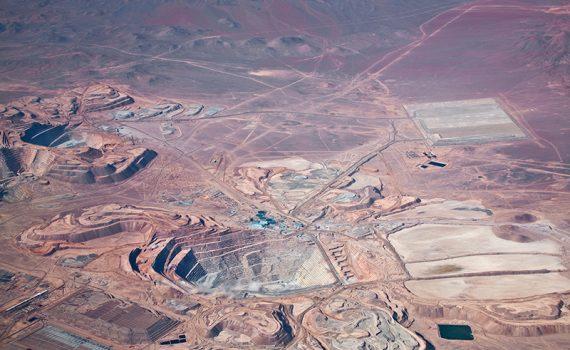 Alteraciones en el desierto de Atacama, en Chile