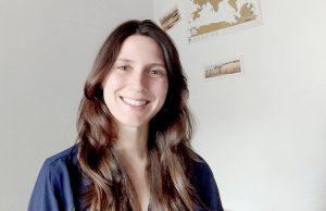La profesora Laura Martín