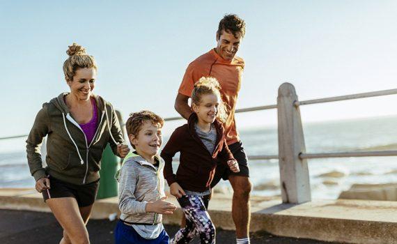 Para cuidar su salud, practique actividad física
