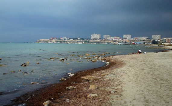 El mar Caspio podría perder hasta un tercio de su superficie